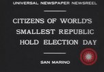 Image of marching troops Republic of San Marino, 1930, second 3 stock footage video 65675075514