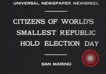 Image of marching troops Republic of San Marino, 1930, second 4 stock footage video 65675075514