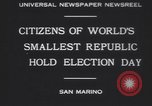 Image of marching troops Republic of San Marino, 1930, second 7 stock footage video 65675075514