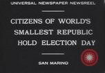 Image of marching troops Republic of San Marino, 1930, second 8 stock footage video 65675075514
