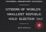 Image of marching troops Republic of San Marino, 1930, second 9 stock footage video 65675075514