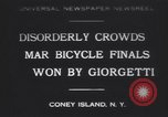 Image of bicycle race New York United States USA, 1930, second 1 stock footage video 65675075515