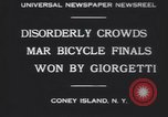 Image of bicycle race New York United States USA, 1930, second 2 stock footage video 65675075515