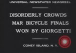 Image of bicycle race New York United States USA, 1930, second 5 stock footage video 65675075515
