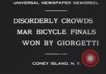 Image of bicycle race New York United States USA, 1930, second 7 stock footage video 65675075515