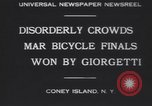 Image of bicycle race New York United States USA, 1930, second 9 stock footage video 65675075515