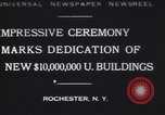 Image of Rush Rhees Rochester New York USA, 1930, second 1 stock footage video 65675075516