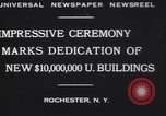 Image of Rush Rhees Rochester New York USA, 1930, second 2 stock footage video 65675075516