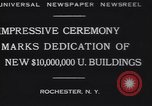 Image of Rush Rhees Rochester New York USA, 1930, second 4 stock footage video 65675075516