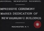 Image of Rush Rhees Rochester New York USA, 1930, second 6 stock footage video 65675075516