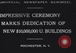 Image of Rush Rhees Rochester New York USA, 1930, second 7 stock footage video 65675075516