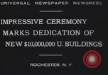 Image of Rush Rhees Rochester New York USA, 1930, second 8 stock footage video 65675075516