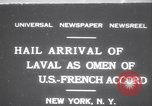 Image of Pierre Laval New York United States USA, 1931, second 1 stock footage video 65675075517