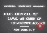 Image of Pierre Laval New York United States USA, 1931, second 7 stock footage video 65675075517