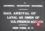 Image of Pierre Laval New York United States USA, 1931, second 8 stock footage video 65675075517