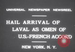 Image of Pierre Laval New York United States USA, 1931, second 9 stock footage video 65675075517