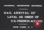 Image of Pierre Laval New York United States USA, 1931, second 10 stock footage video 65675075517