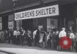 Image of free meals for children during great depression Chicago Illinois USA, 1931, second 10 stock footage video 65675075518
