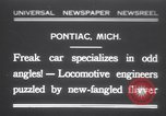 Image of Four wheel steering car Pontiac Michigan USA, 1931, second 1 stock footage video 65675075521