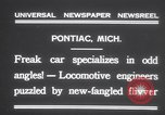 Image of Four wheel steering car Pontiac Michigan USA, 1931, second 5 stock footage video 65675075521