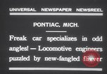 Image of Four wheel steering car Pontiac Michigan USA, 1931, second 6 stock footage video 65675075521