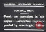 Image of Four wheel steering car Pontiac Michigan USA, 1931, second 7 stock footage video 65675075521