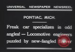 Image of Four wheel steering car Pontiac Michigan USA, 1931, second 11 stock footage video 65675075521