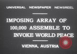 Image of President Wilhelm Miklas Vienna Austria, 1931, second 1 stock footage video 65675075522