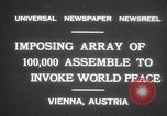 Image of President Wilhelm Miklas Vienna Austria, 1931, second 3 stock footage video 65675075522