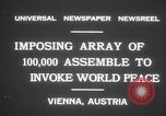 Image of President Wilhelm Miklas Vienna Austria, 1931, second 4 stock footage video 65675075522