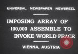 Image of President Wilhelm Miklas Vienna Austria, 1931, second 5 stock footage video 65675075522