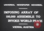 Image of President Wilhelm Miklas Vienna Austria, 1931, second 7 stock footage video 65675075522