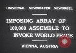 Image of President Wilhelm Miklas Vienna Austria, 1931, second 9 stock footage video 65675075522