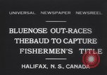Image of Gertrude L Thebaud schooner Halifax Nova Scotia, 1931, second 1 stock footage video 65675075523