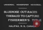 Image of Gertrude L Thebaud schooner Halifax Nova Scotia, 1931, second 4 stock footage video 65675075523