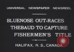 Image of Gertrude L Thebaud schooner Halifax Nova Scotia, 1931, second 7 stock footage video 65675075523