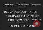 Image of Gertrude L Thebaud schooner Halifax Nova Scotia, 1931, second 8 stock footage video 65675075523