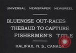 Image of Gertrude L Thebaud schooner Halifax Nova Scotia, 1931, second 9 stock footage video 65675075523