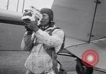 Image of parachutists Garden City New York USA, 1930, second 8 stock footage video 65675075536