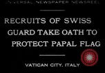 Image of Swiss Guards Vatican City Rome Italy, 1930, second 1 stock footage video 65675075537