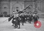 Image of Swiss Guards Vatican City Rome Italy, 1930, second 4 stock footage video 65675075537
