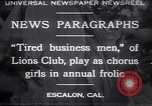 Image of business men Escalon California USA, 1930, second 1 stock footage video 65675075541