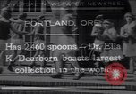 Image of spoons Portland Oregon USA, 1930, second 1 stock footage video 65675075542
