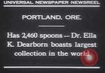 Image of spoons Portland Oregon USA, 1930, second 2 stock footage video 65675075542