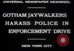Image of jaywalkers New York City USA, 1930, second 2 stock footage video 65675075545