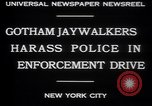 Image of jaywalkers New York City USA, 1930, second 3 stock footage video 65675075545