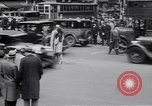 Image of jaywalkers New York City USA, 1930, second 9 stock footage video 65675075545