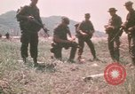 Image of Montagnard soldiers Pleiku South Vietnam, 1969, second 9 stock footage video 65675075555