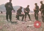 Image of Montagnard soldiers Pleiku South Vietnam, 1969, second 10 stock footage video 65675075555