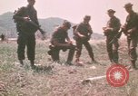 Image of Montagnard soldiers Pleiku South Vietnam, 1969, second 11 stock footage video 65675075555